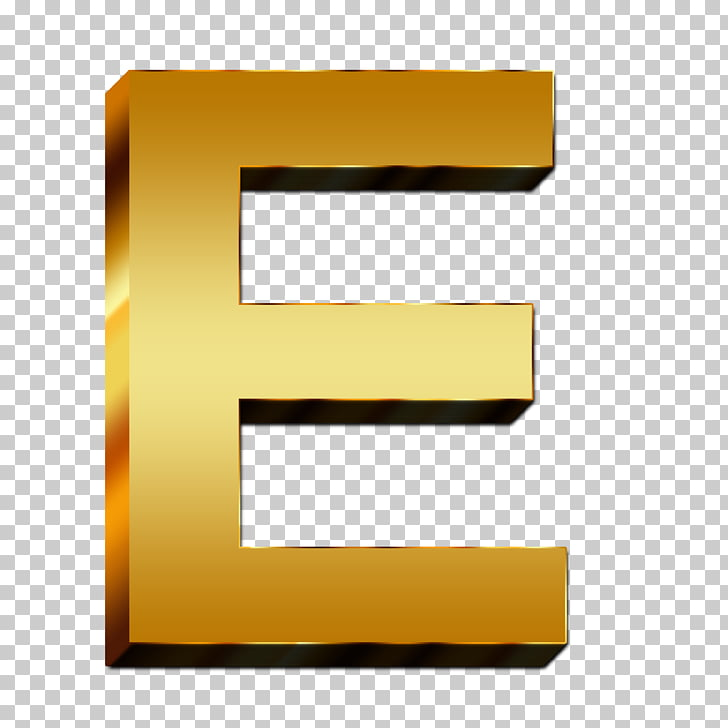 Letters ABC Alphabet Indonesian Symbol, Gold letters PNG.