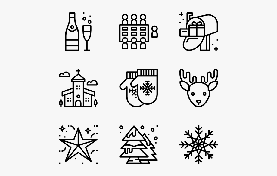 Clipart Royalty Free Library Pixel Vector Christmas.