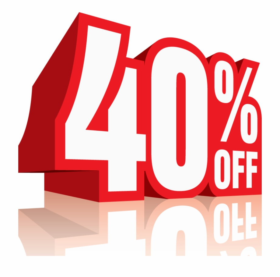 40 Percent Off Discount Sale Icon 2 E1429655240574.