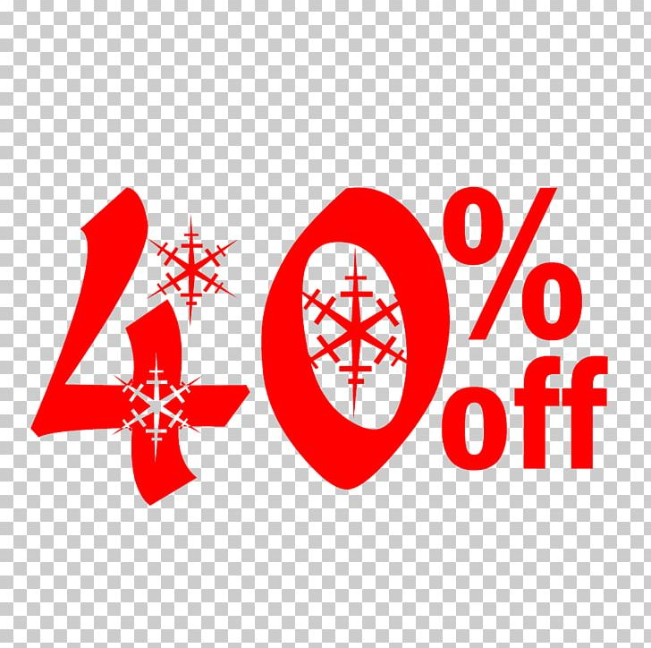 Snow Christmas Sale 40% Off Discount Tag. PNG, Clipart, Allsaints.