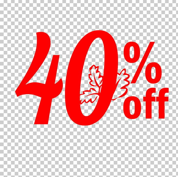 Thanksgiving Sale 40% Off Discount Tag. PNG, Clipart, Account, Area.