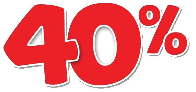 скидка 40 png 5 » PNG Image.