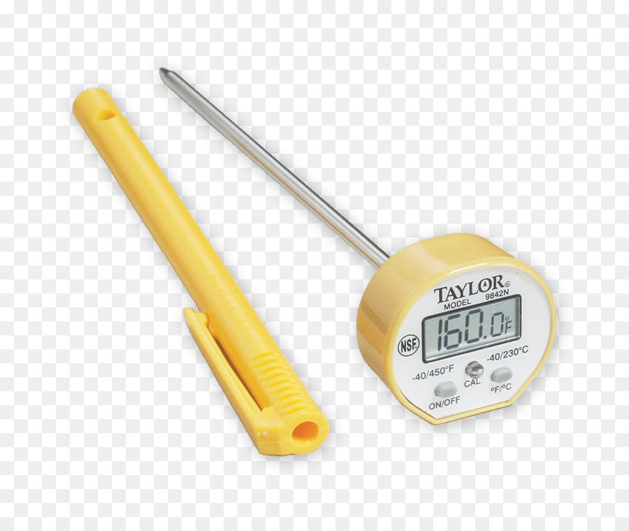 taylor 9842 digital instant read themometer clipart Meat.