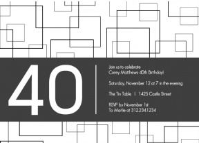 Free 40 Year Old Birthday Clipart To Print.
