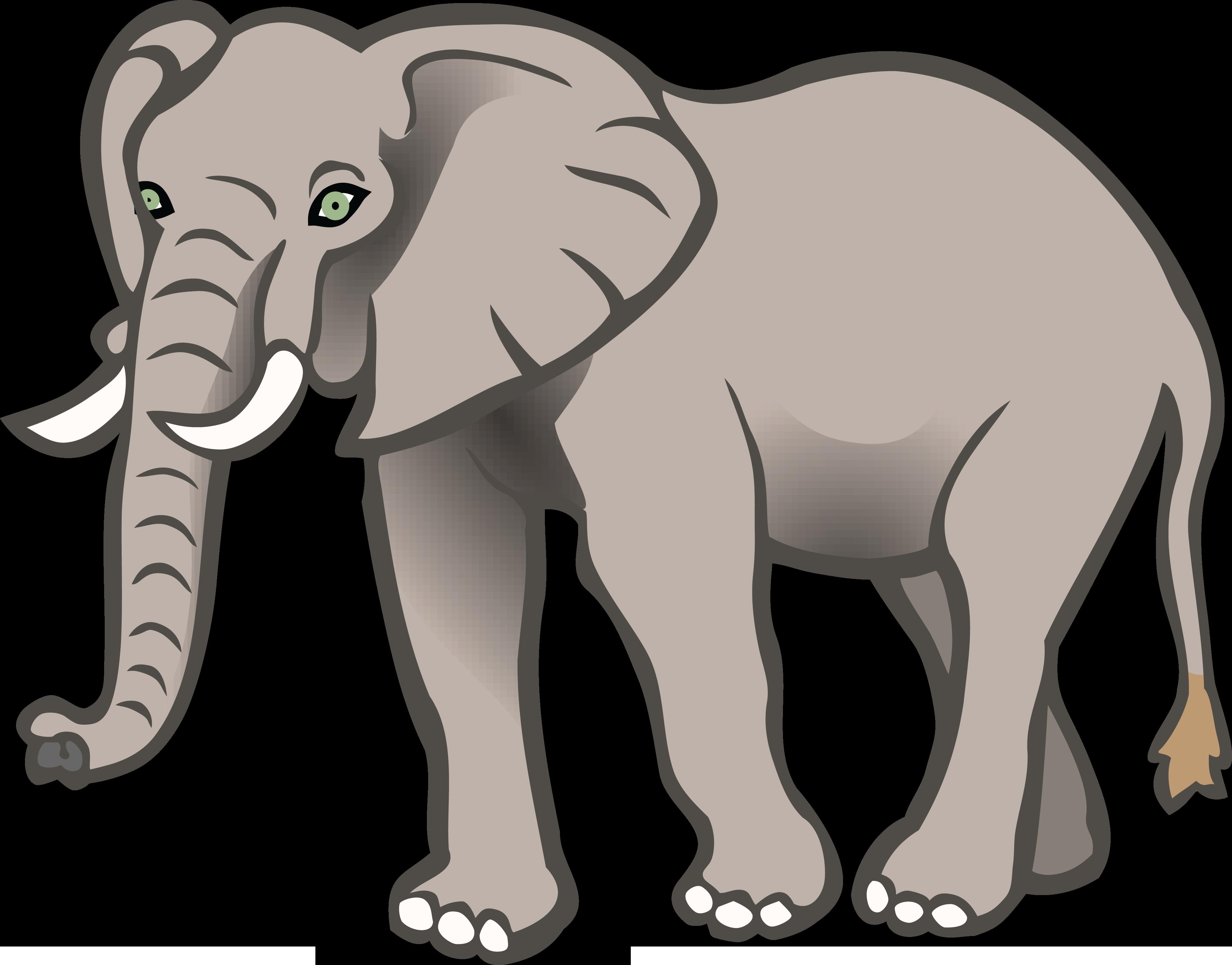 Big Elephants Clip art.