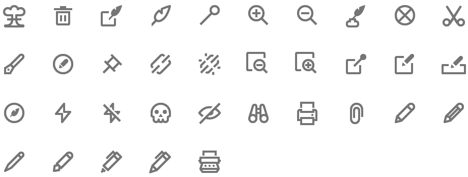 4,000 Material Design Icons. Simple, readable and easy to use..