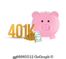 401K Clip Art.