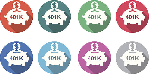Best 401k Illustrations, Royalty.