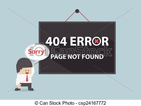 Vectors Illustration of 404 error, Page not found, VECTOR, EPS10.