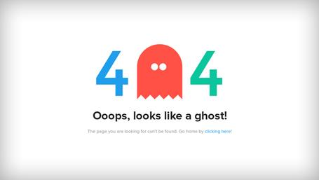 Chybová stránka 404, vektorový soubor.