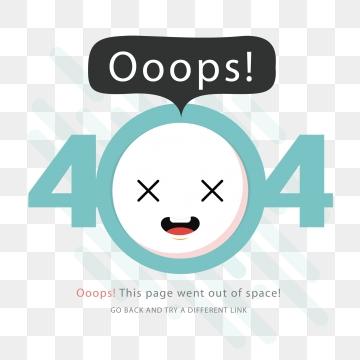 404 Error PNG Images.