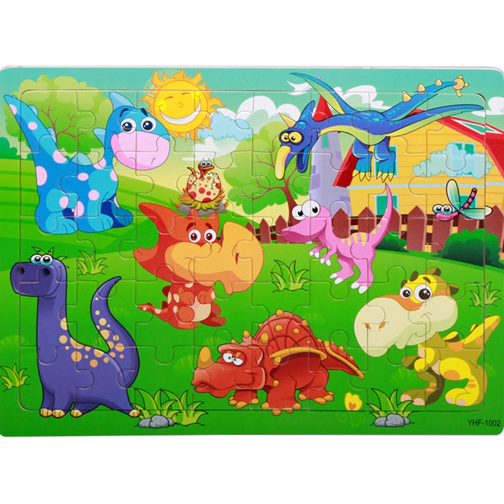 Buy FairOnly 40/60 PCS/Set Baby Wooden Educational Puzzle.