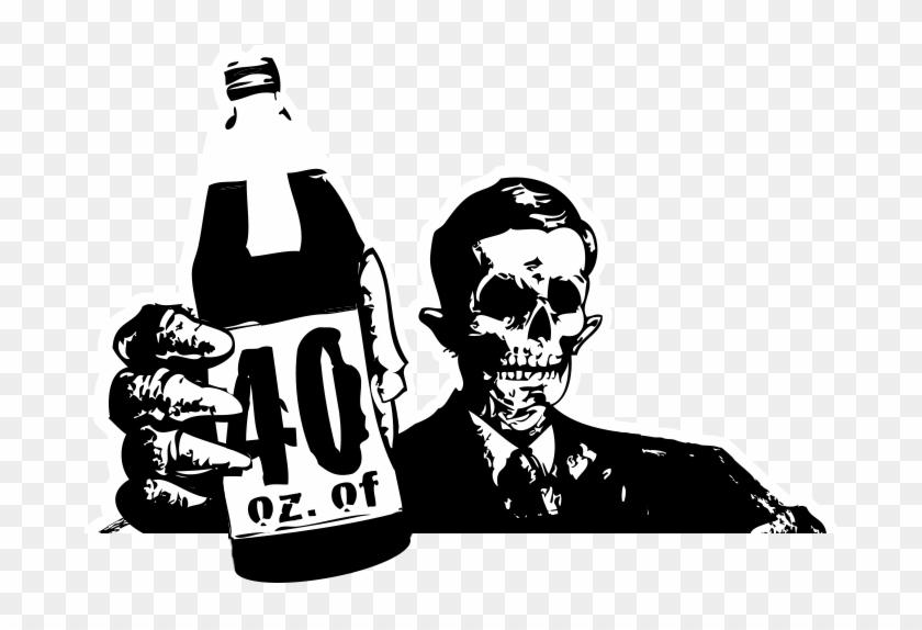 Beer Clipart 40oz.