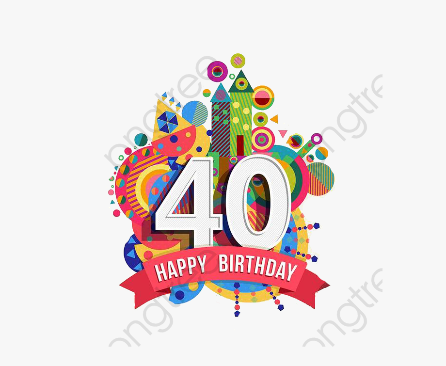 40th Anniversary Clipart.