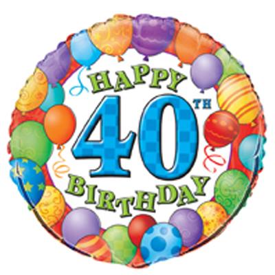 59+ 40th Birthday Clip Art.