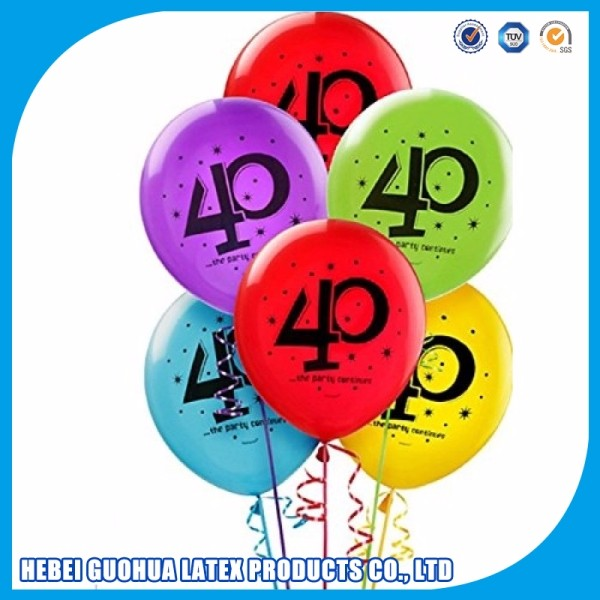 Download balloons 40th birthday clipart Balloon Birthday Party.