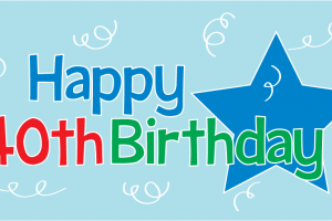 Happy 40th birthday clipart free » Clipart Portal.