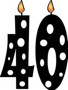 Happy 40th Birthday ….