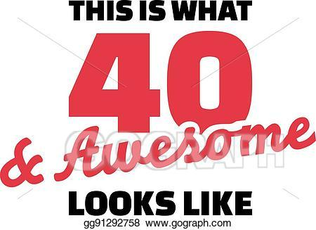 40th birthday clipart images pictures 6 » Clipart Portal.