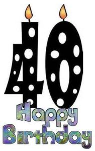 Free 40th birthday clipart 8 » Clipart Station.