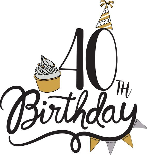 40th birthday clipart pictures 5 » Clipart Portal.