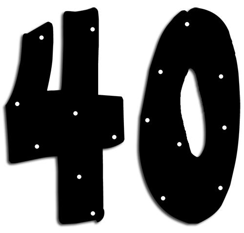 Happy 40th Birthday Clipart (22+) Desktop Backgrounds.