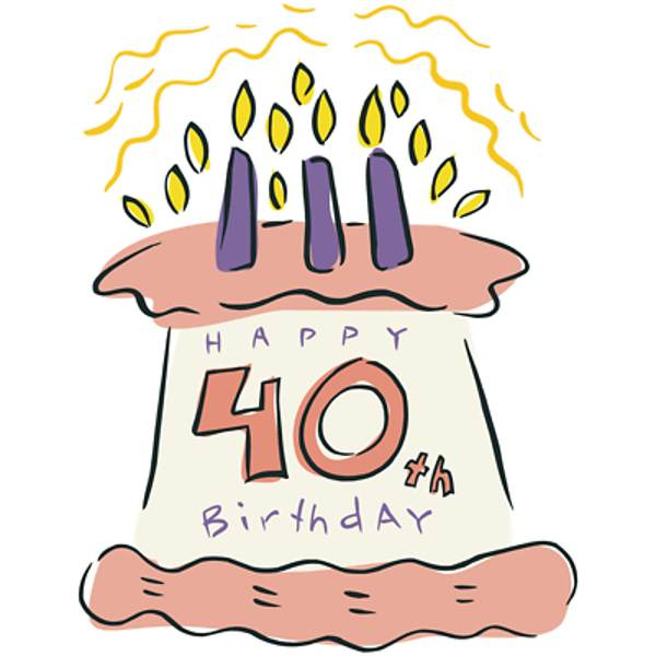 Free clipart 40th birthday PNG and cliparts for Free Download.