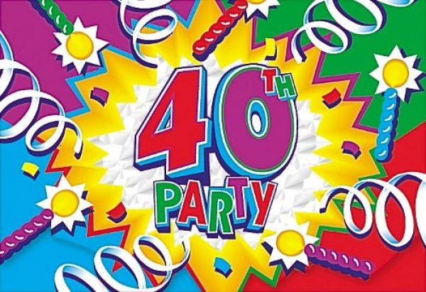 40th birthday clipart PNG and cliparts for Free Download.