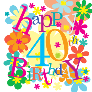 Free Happy 40th Birthday, Download Free Clip Art, Free Clip.