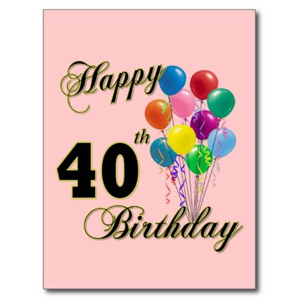 Free Happy 40th Birthday Clipart, Download Free Clip Art.