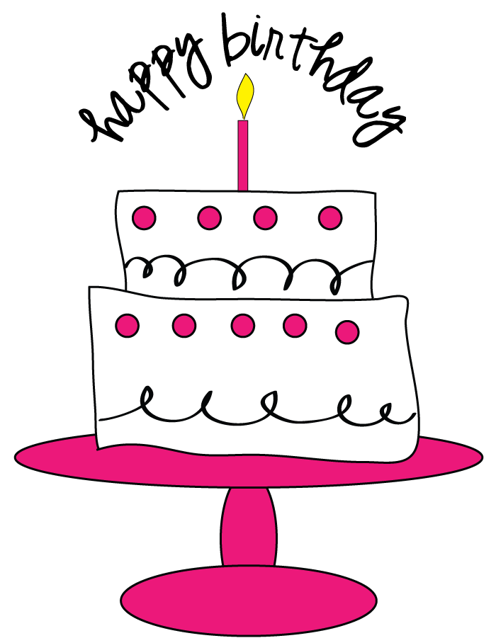 Free 40th Birthday Clipart Images.