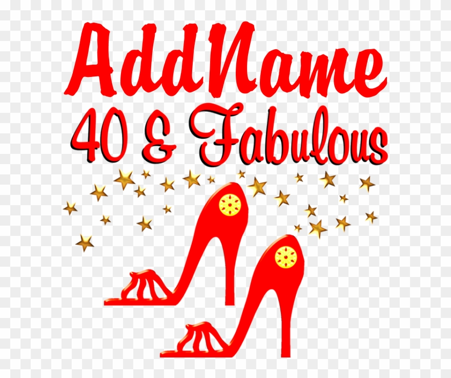 40th Stiletto Flask Clipart (#2866067).