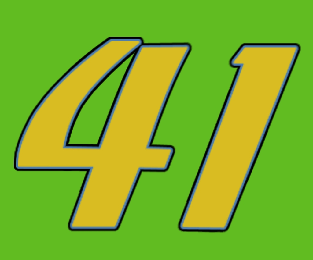 Clipart of Number 41.