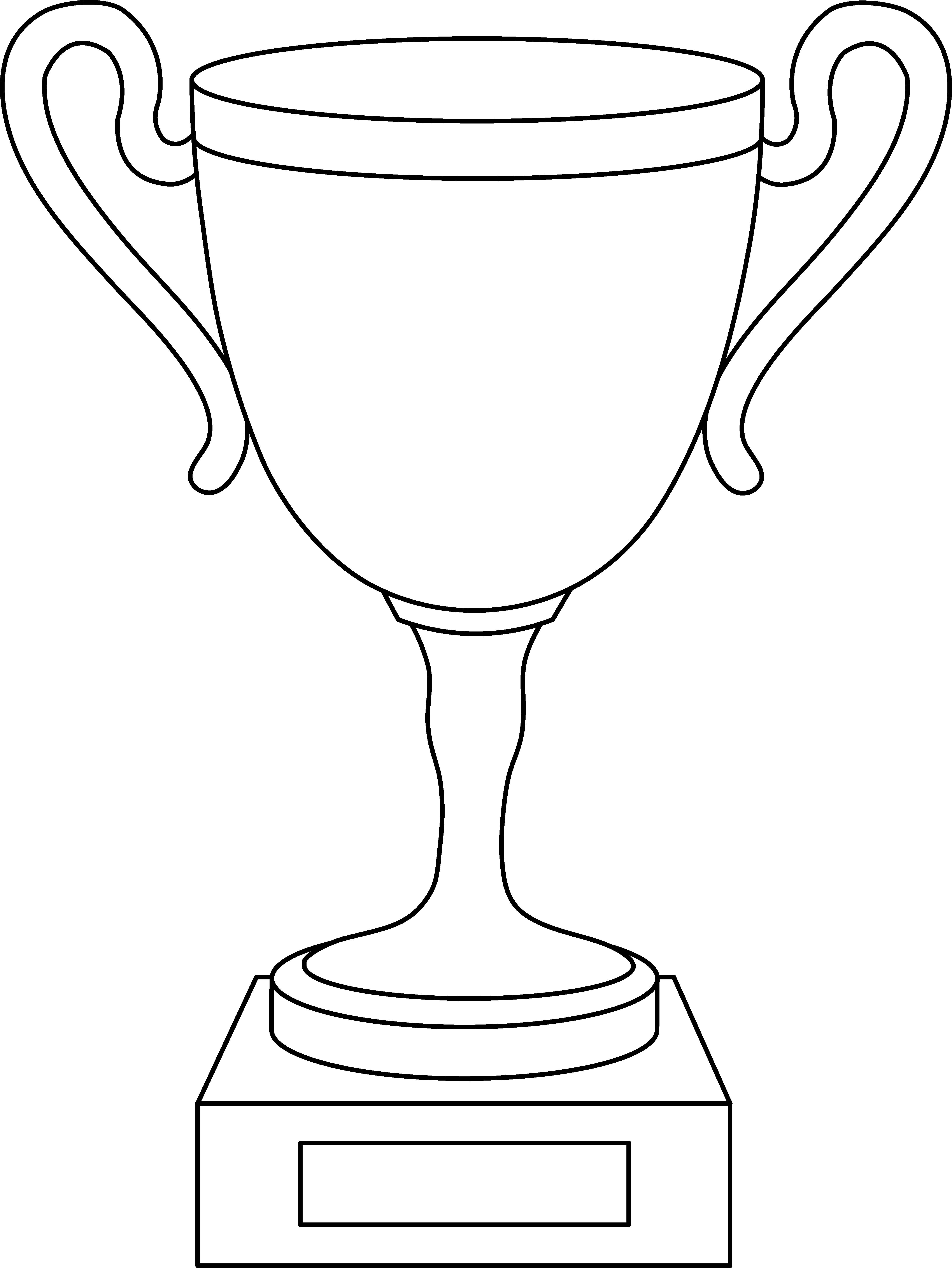 Best Trophy Clipart #4100.
