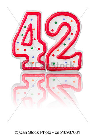Number 42 Illustrations and Clipart. 108 Number 42 royalty free.