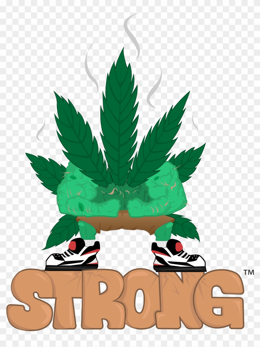420 Strong™ Apparel Clipart , Png Download.