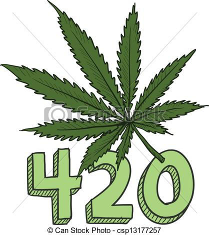 420 Clipart.