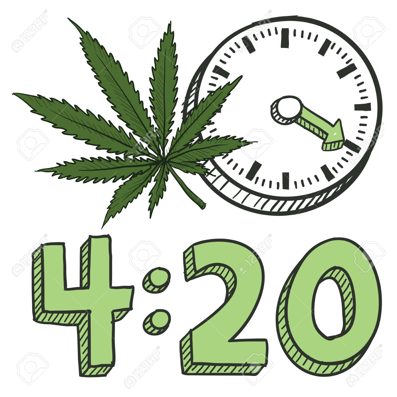 420 day clipart #3