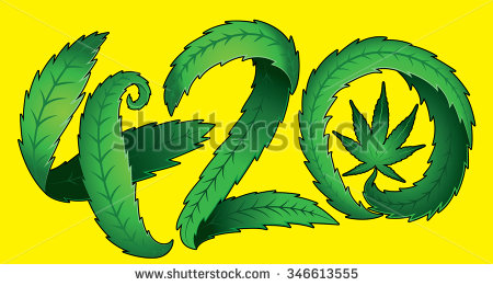 420 Day Clipart.