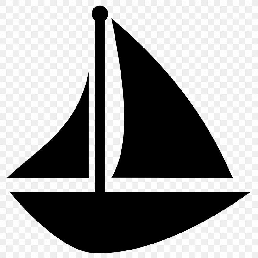 Sailboat Sailing Clip Art, PNG, 2400x2400px, Sailboat, Black.