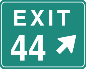 Exit Direction Clip Art at Clker.com.