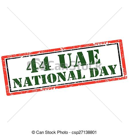 Vector Clipart of 44 UAE.
