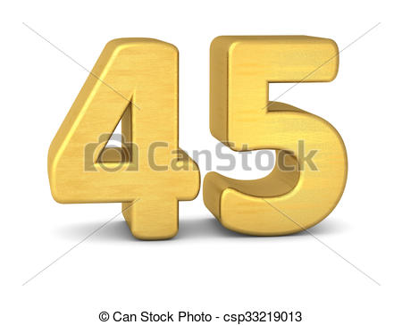 Number 45 Illustrations and Clipart. 387 Number 45 royalty free.