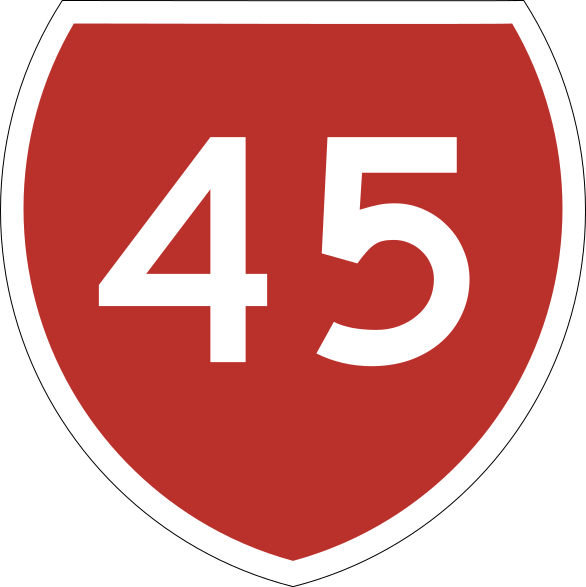 File:State Highway 45 NZ.svg.