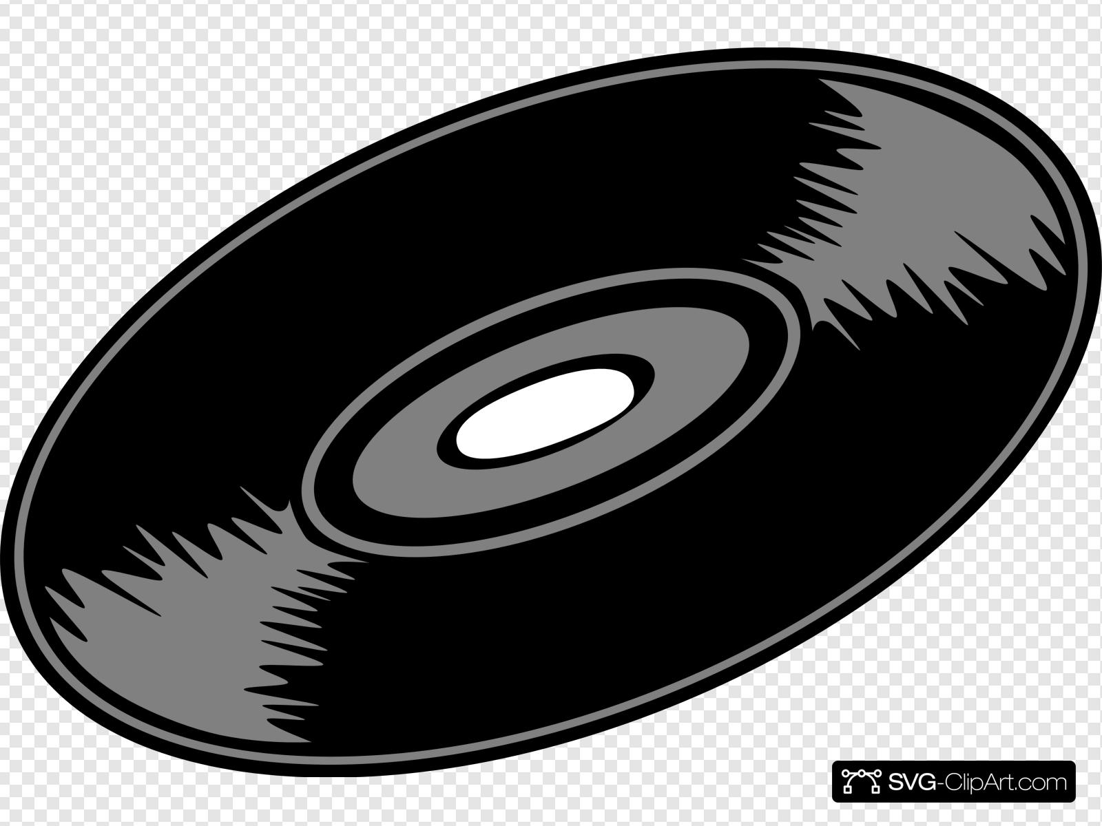 45 Rpm Record Clip art, Icon and SVG.