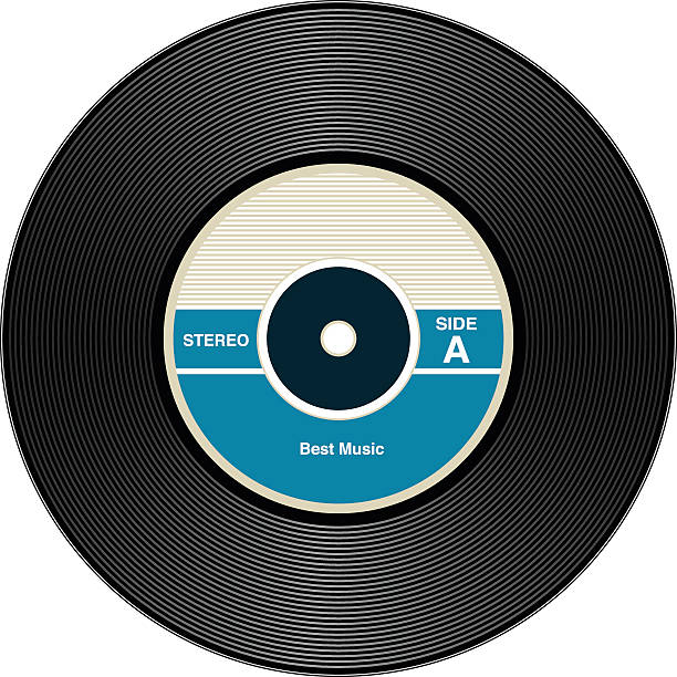 Best Vinyl Record Illustrations, Royalty.
