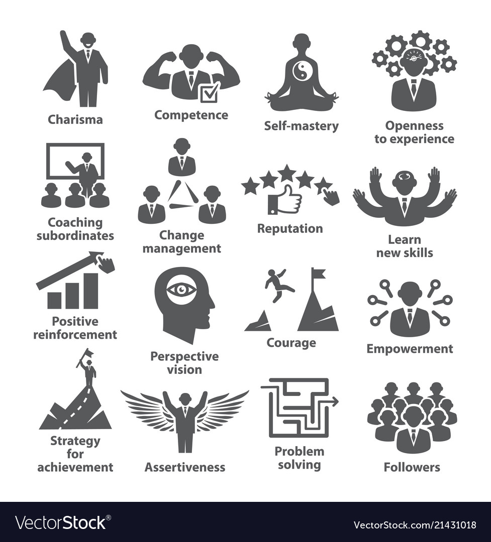 Business management icons pack 45 icons for.