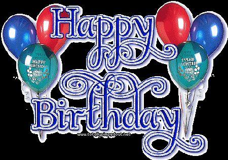 Enjoy your day Happy 45th Birthday Clip Art.