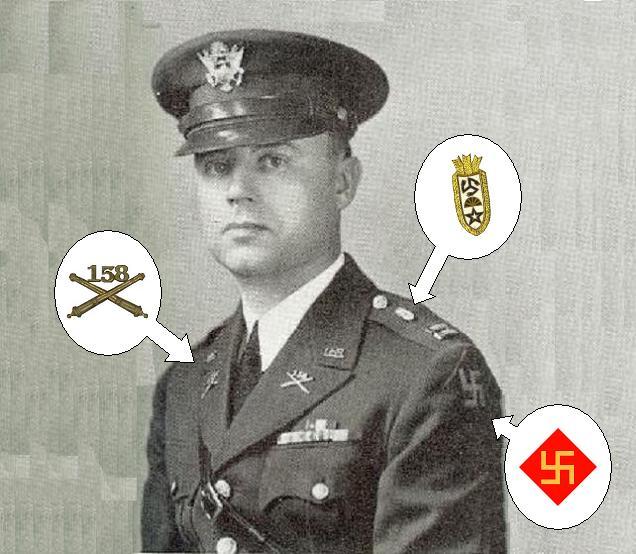 Distinctive Unit Insignia » 158th Field Artillery Association.