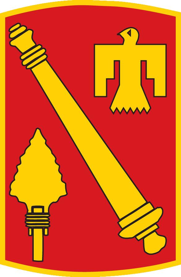 45th Field Artillery Brigade (FAB).